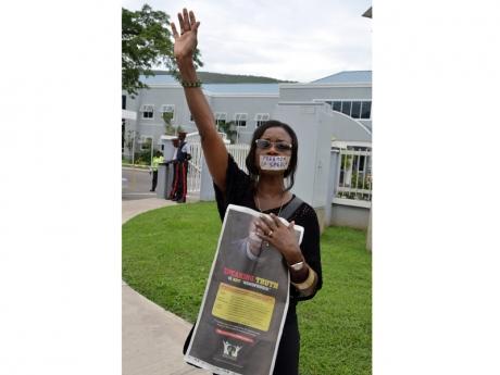 UWI protest