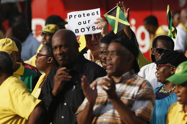 Thousands of Jamaicans hold demonstration against local LGBT community in Kingston